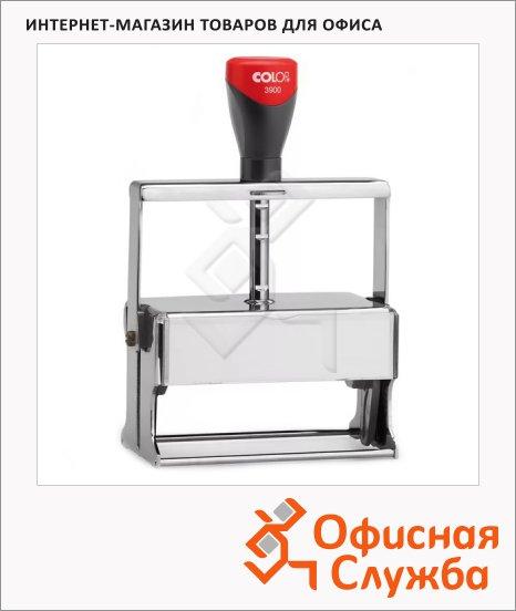 фото: Оснастка для прямоугольной печати Colop Microban 3900 106х55мм черная