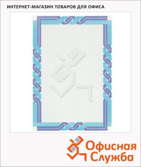 Сертификат-бумага Decadry сине-голубая пара, А4, 115г/м2