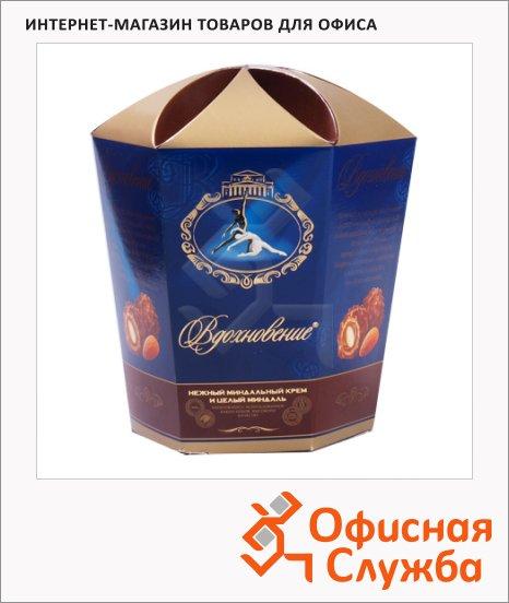Конфеты Вдохновение миндальный крем с цельным миндалем, 150г