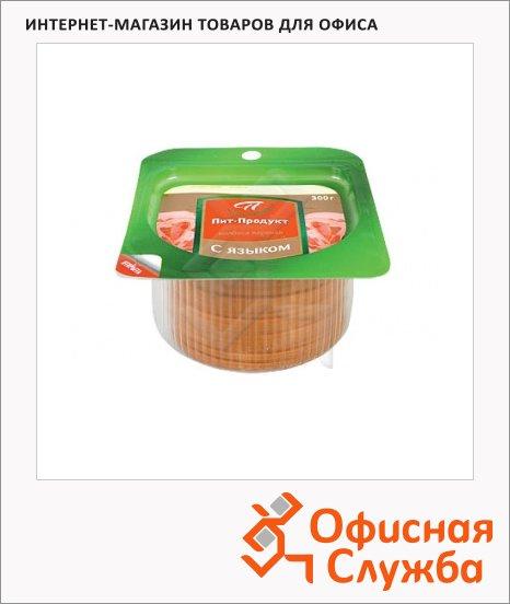 Колбаса Пит-Продукт вареная с языком, 300г