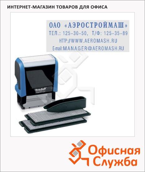 ����� ������������� ������������ Trodat Printy Typomatic 4 ������, 47�18��