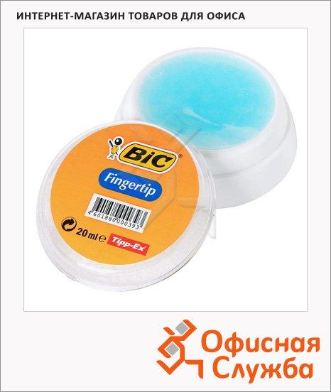Подушка для смачивания пальцев Bic гелевая, 20г