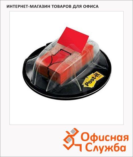 Клейкие закладки пластиковые Post-It Professional красный, 25мм, 200 листов, в диспенсере, 680- HVSHR