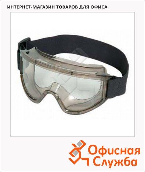 фото: Очки защитные Ампаро Премиум прозрачные закрытые, 222451