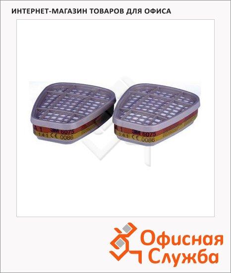 Патрон для защитной маски 3m АВЕК1, 200 ПДК, 2 шт/уп, 6075