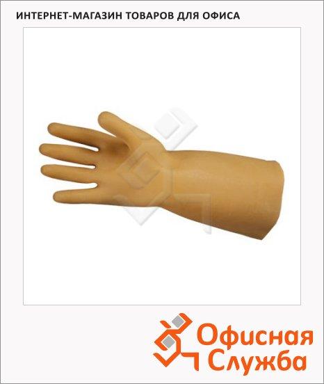 фото: Перчатки диэлектрические бесшовные р.L, бежевые