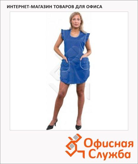 фото: Фартук для торговли голубой универсальный р-р
