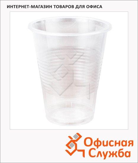 Стакан одноразовый Стиролпласт Эконом, 200мл, 100шт/уп