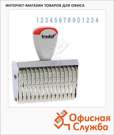 Нумератор ручной Trodat Classic Line 14 разрядов, 5мм, 15514