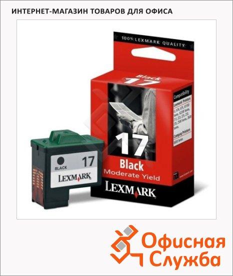 Картридж струйный Lexmark, черный