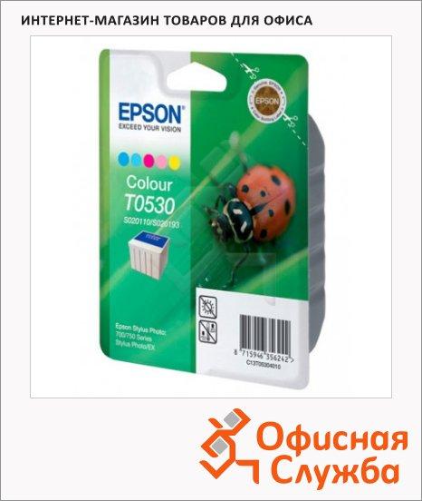 Картридж струйный Epson C13 T053040, 5 цветов