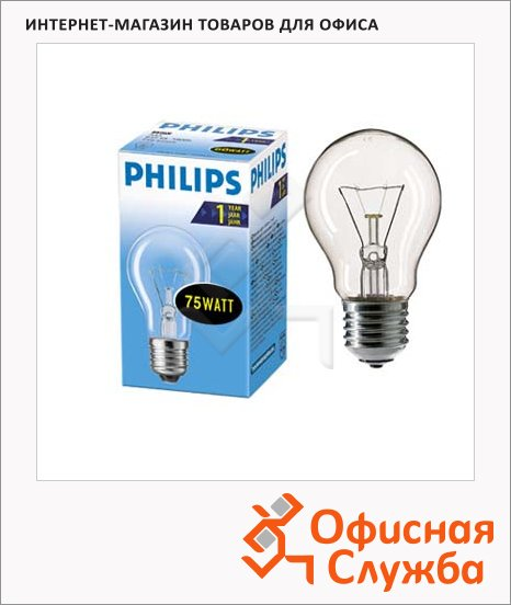 Лампа накаливания Philips CL/A55, Е27