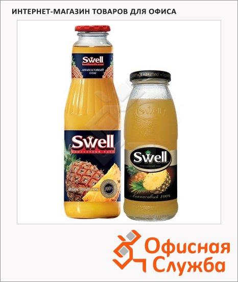 Сок Swell ананас, стекло