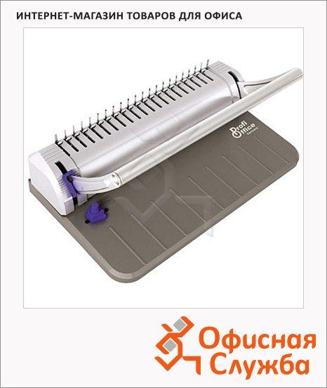 Брошюровщик гребеночный Profioffice Bindstream M08, на 8 листов, переплет до 150 листов, пластиковая пружина