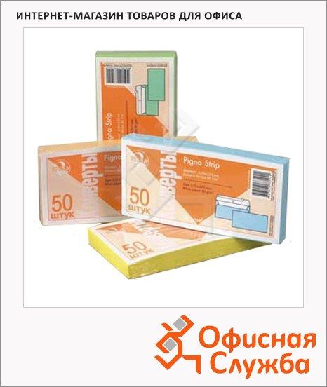 Конверт почтовый Packpost E65, 110х220мм, 90г/м2, стрип
