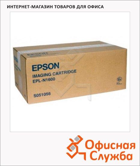 Тонер-картридж Epson C13S051056, черный