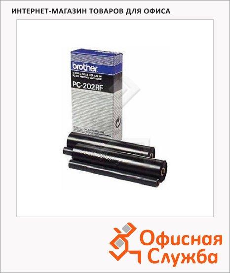 Термопленка для факса Brother PC-202RF, 420стр, 2шт/уп