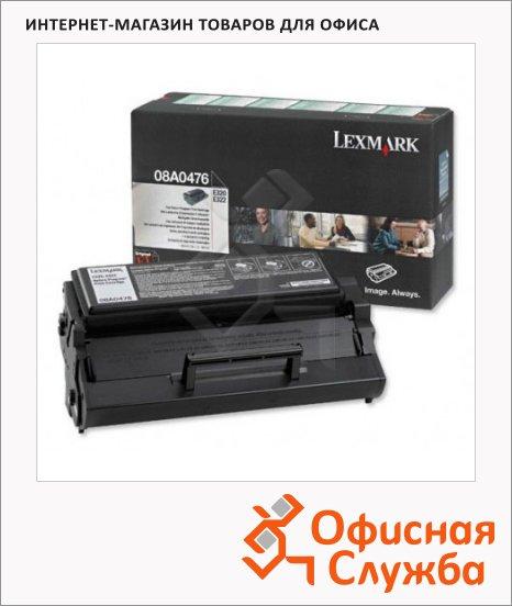 фото: Тонер-картридж Lexmark 08A0476 черный