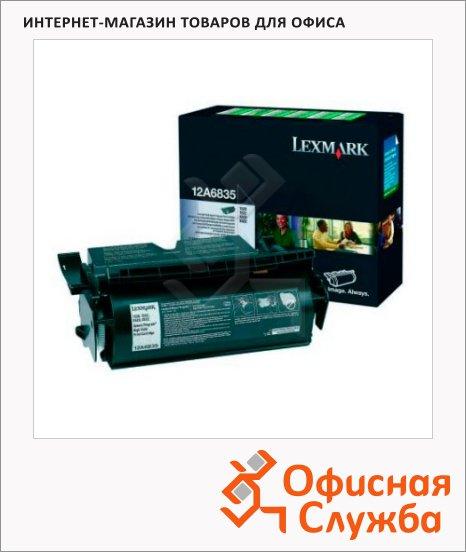 Тонер-картридж Lexmark 12A6835, черный