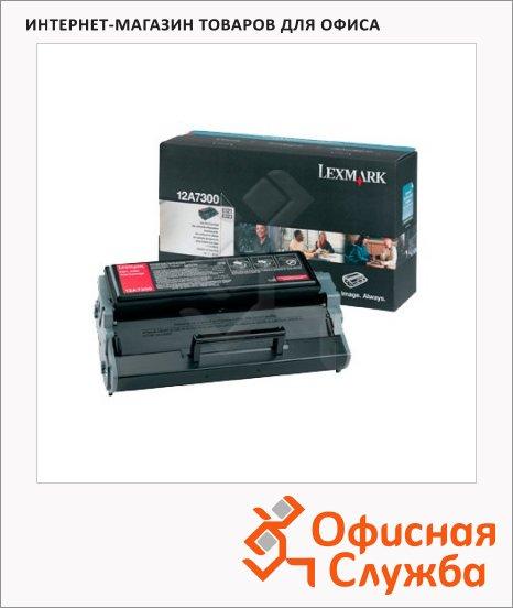 Тонер-картридж Lexmark 12A7300, черный