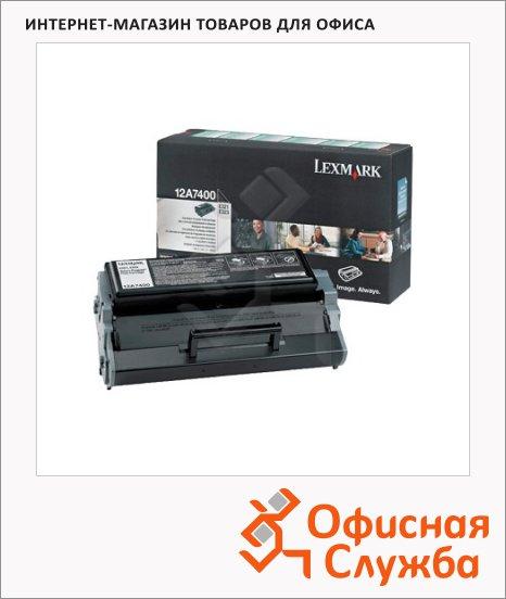 фото: Тонер-картридж Lexmark 12A7400 черный