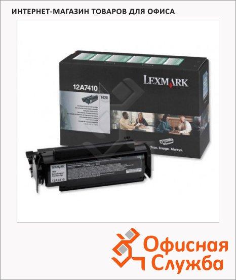 Тонер-картридж Lexmark 12A7410, черный