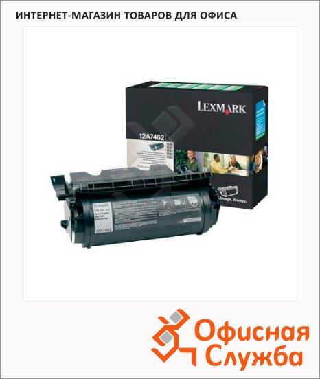 Тонер-картридж Lexmark 12A7462, черный