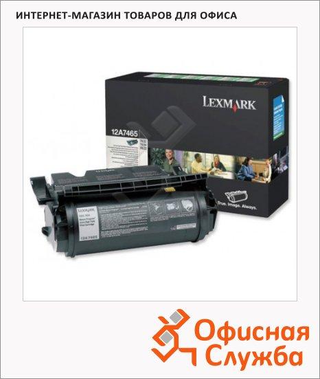 Тонер-картридж Lexmark 12A7465, черный