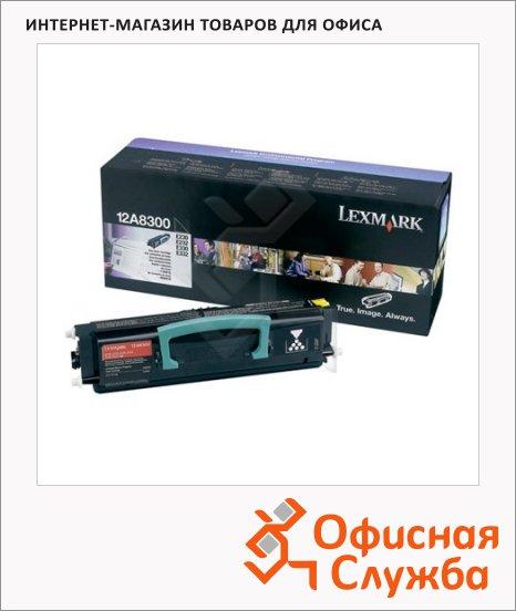 фото: Тонер-картридж Lexmark 12A8300 черный