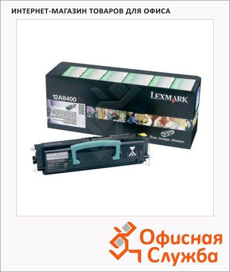 Тонер-картридж Lexmark 12A8400, черный