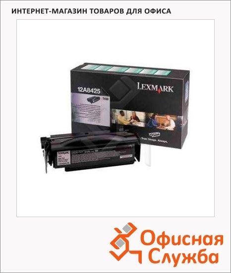 Тонер-картридж Lexmark 12A8425, черный