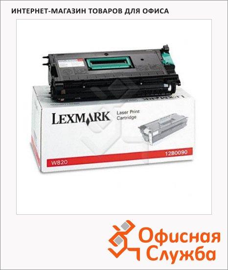 фото: Тонер-картридж Lexmark 12B0090 черный