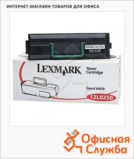 Тонер-картридж Lexmark 12L0250, черный