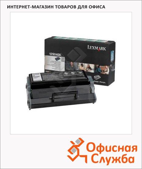 Тонер-картридж Lexmark 12S0400, черный