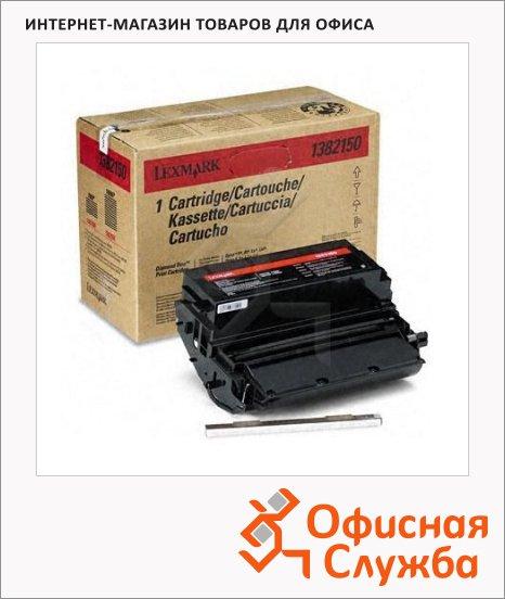 Тонер-картридж Lexmark 1382150, черный