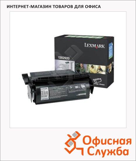 Тонер-картридж Lexmark 1382920, черный