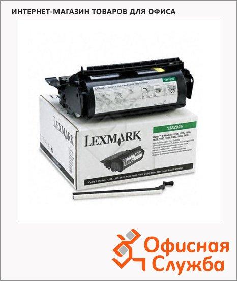 Тонер-картридж Lexmark 1382925, черный