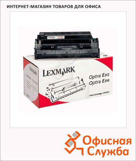 фото: Тонер-картридж Lexmark 13T0101 черный