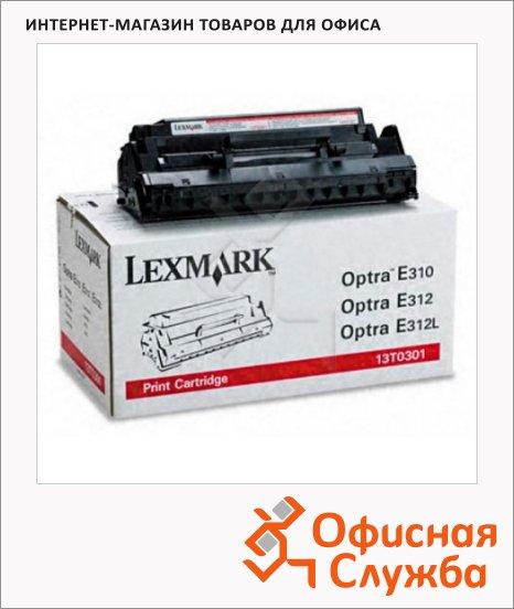 Тонер-картридж Lexmark 13T0301, черный