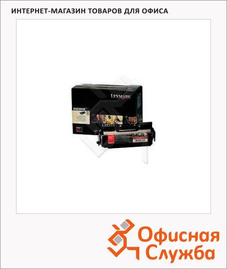 фото: Тонер-картридж Lexmark 64036HE черный