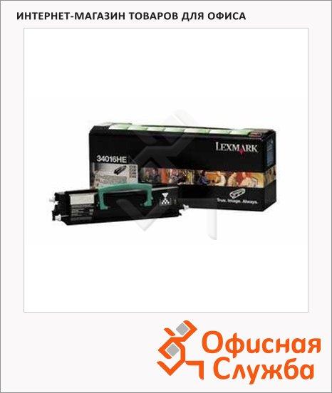 фото: Тонер-картридж Lexmark LX34016HE черный