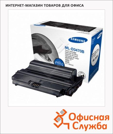 Тонер-картридж Samsung ML-D3470B, черный
