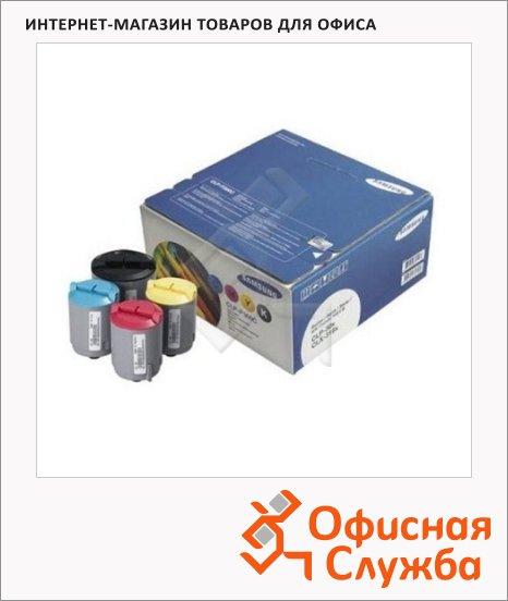 Тонер-картридж Samsung CLP-Р300K/C/M/Y, 4 цвета