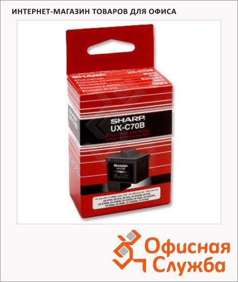 Картридж для факса лазерный Sharp UX-B700, черный, 500стр