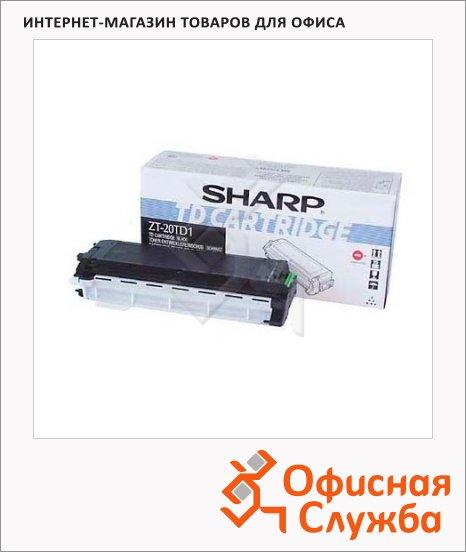 Тонер-картридж Sharp ZT-20TD1, черный