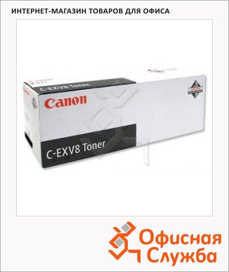 Тонер-картридж Canon C-EXV8BK, черный, (7629A002)