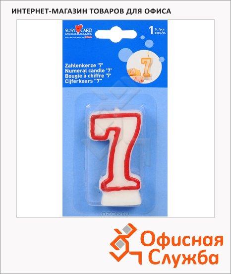 Свеча для торта Herlitz цифра 7