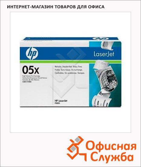 фото: Тонер-картридж Hp CE505X черный повышенной емкости
