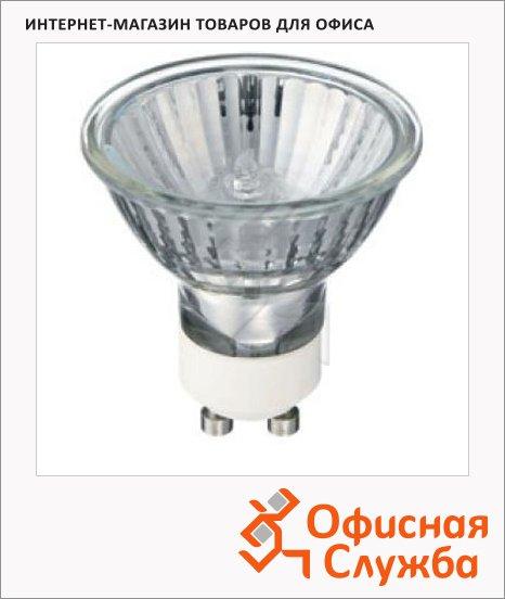 фото: Лампа галогенная Старт 35Вт GU10, 2850К, теплый белый свет, рефлектор с отражателем