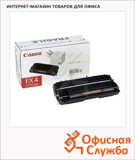 Картридж для факса лазерный Canon FX-4 1558A003, черный, 4000стр
